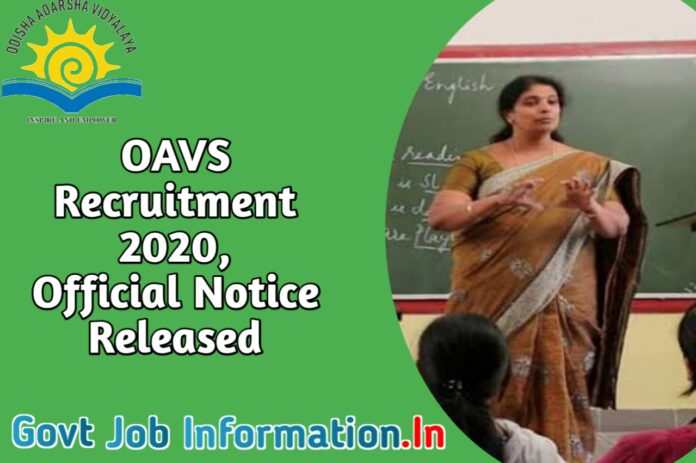 oavs recruitment 202o