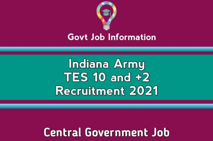 Indiana Army TES Recruitment